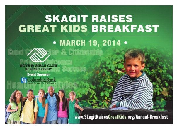 Boys and Girls Clubs of Skagit County -Skagit Raises Great Kids Breakfast