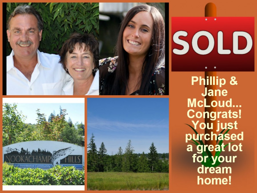 Nookachamp Hills Lot - Sold by the Baird & Russell Team