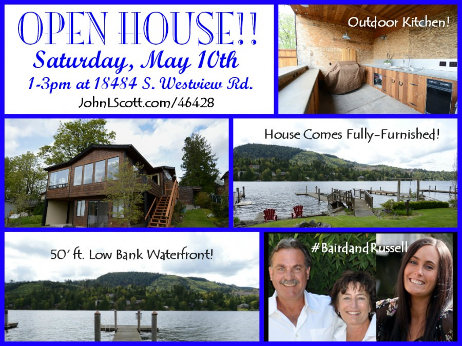 Open House - Big Lake Waterfront Home - Westview Road