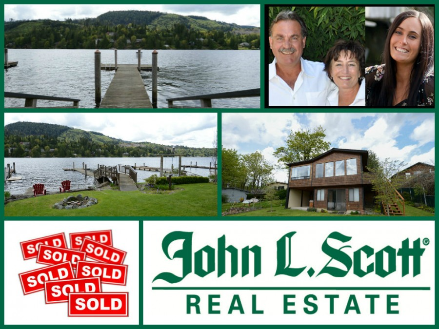 Big Lake Waterfront Sold. Mount Vernon Washington