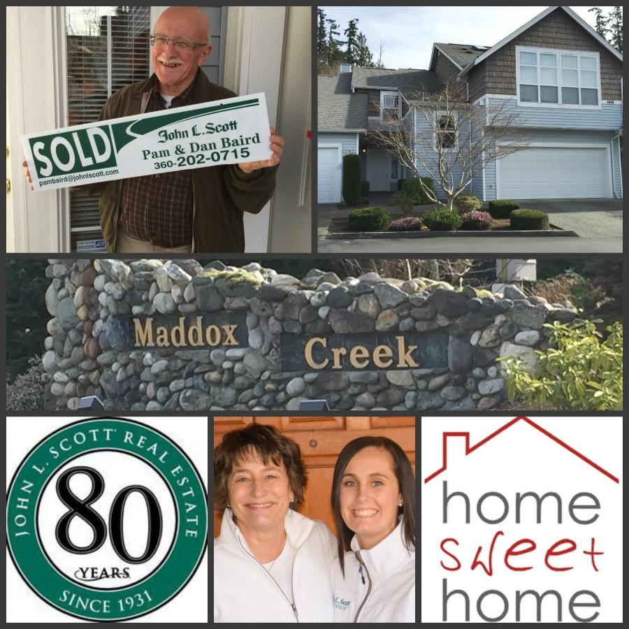 Maddox Creek Condo Sold - 1410 Mallard View Drive #1, Mount Vernon
