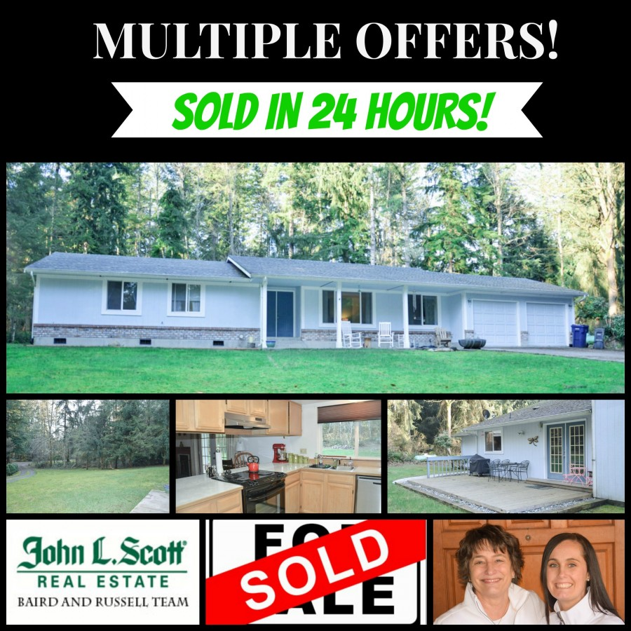 Sedro-Woolley WA Rambler on Acreage - SOLD 23043 Ida Lane, Sedro-Woolley