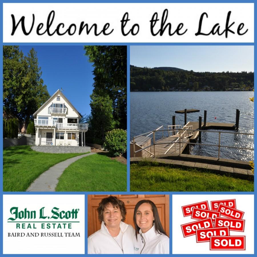 Big Lake Waterfront Home on '50 ft of Lakefront Sold - 17848 Gem Lane, Mount Vernon
