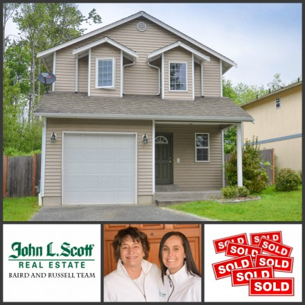SOLD! Mount Vernon WA Updated 2-Story - 3207 Rosewood Street, Mt Vernon
