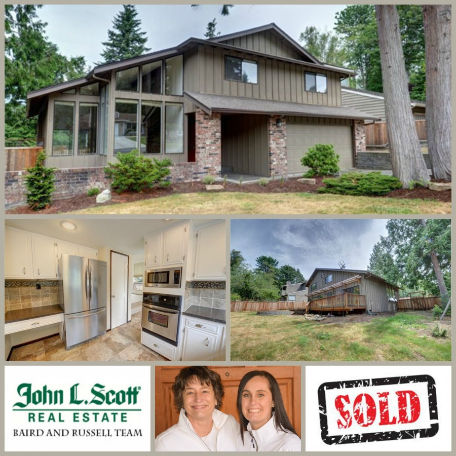 Whatcom Falls Heights Home Sold in Bellingham ~ 3005 Windtree Court, Bellingham WA