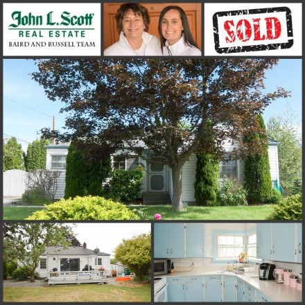 Just Sold ~ Mount Vernon WA Home on Hill - 1411 Broad Street, Mount Vernon WA 98273
