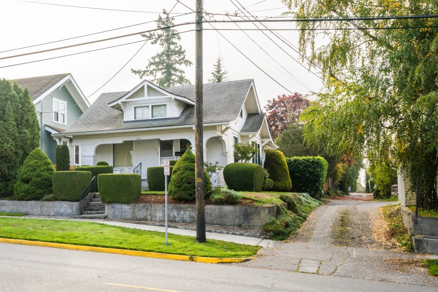 Just Listed ~ Early 1900's Mount Vernon WA Home on Hill - 214 Fulton Street, Mount Vernon WA 98273