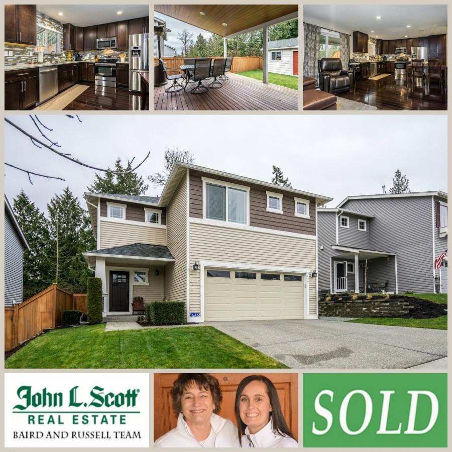 Sold in Skagit Highlands ~ 5646 Swift Creek Drive, Mount Vernon WA