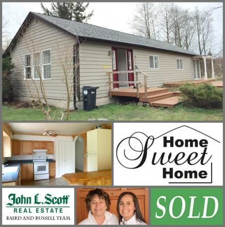 SOLD Mount Vernon WA Rambler - 1501 Horton Lane, Mount Vernon WA 98273