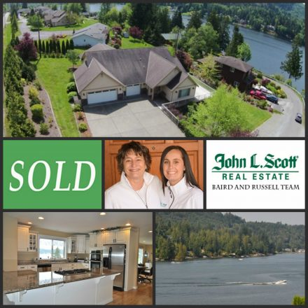 Just SOLD! Big Lake View Home - 18731 Sulfer Springs Rd, Mount Vernon WA