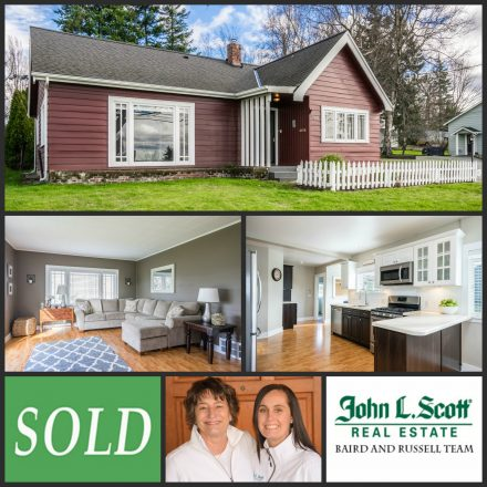 Just Sold! Classic Mount Vernon Home on Hill - 700 N 8th Street, Mount Vernon WA