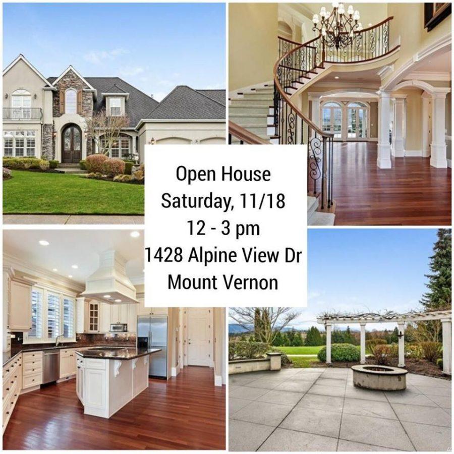 Eaglemont Open House - 1428 Alpine View Drive, Mount Vernon WA