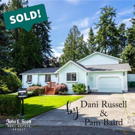 Sold in Skyline! 4232 Bryce Drive, Anacortes